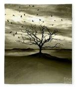 Raven Valley Fleece Blanket