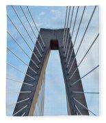 Ravenel Bridge Charleston Fleece Blanket