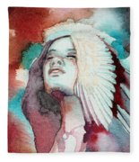 Ravensara Fleece Blanket