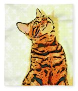 Ravi Series #7 Fleece Blanket