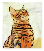 Ravi Series #9 Fleece Blanket