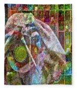 Raw Impression Fleece Blanket