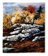 Raw North Fleece Blanket