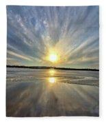 Rayed Marsh 2 Fleece Blanket