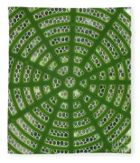 Rays And Circles Abstract 01 Fleece Blanket