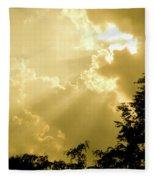 Rays Of Glory Fleece Blanket