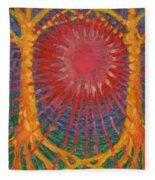 Rays Of Life Fleece Blanket