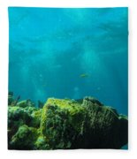 Rays Of Light Fleece Blanket