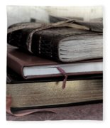 Reading Material Fleece Blanket