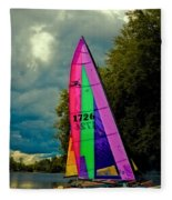 Ready To Sail Fleece Blanket