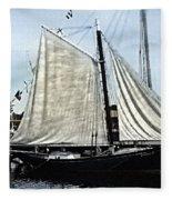 Ready To Sail Fleece Blanket