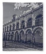 Real Palacio De Los Capitanes Generales Fleece Blanket