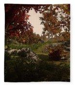 Realm Of Nature Fleece Blanket