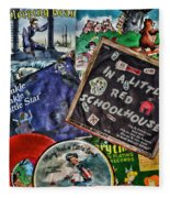 Records For Children Fleece Blanket