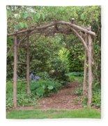 Recycled Arbor Fleece Blanket