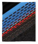 Red And Blue Shine Fleece Blanket