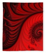 Red Ants Fleece Blanket
