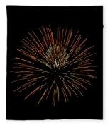 Red Ball Fleece Blanket