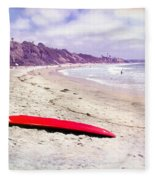 Red Board Fleece Blanket