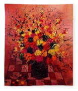 Red Bunch Fleece Blanket