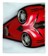 Red Car 007 Fleece Blanket