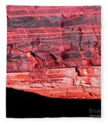 Red Cliff Fleece Blanket