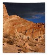 Red Cliffs Natural Preserve Fleece Blanket