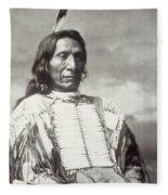 Red Cloud Chief Fleece Blanket