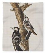 Red-cockaded Woodpecker Fleece Blanket