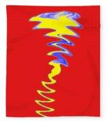 Red Day Fleece Blanket