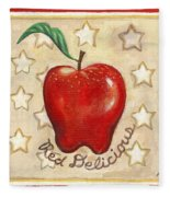 Red Delicious Two Fleece Blanket