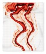 Red Demon Fleece Blanket