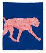 Red Dog Tee Fleece Blanket