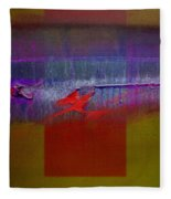 Red Dragon Autumn Fleece Blanket