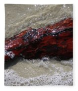 Red Drifter Fleece Blanket