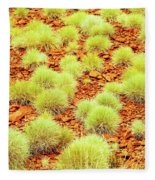 Red Earth And Spinifex 2am-111716 Fleece Blanket
