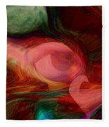 Red Eye Fleece Blanket