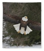 Red Feather Lift Off Fleece Blanket