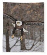 Red Feather Touchdown Fleece Blanket