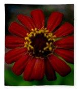 Red Flower 8 Fleece Blanket