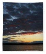 Red Glow Fleece Blanket