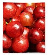 Red Grape Pano Fleece Blanket