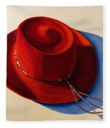 Red Hat Fleece Blanket