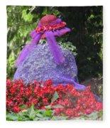 Red Hat Veil Fleece Blanket