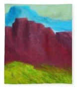 Red Hills Revisited. Fleece Blanket