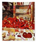 Red Hot Chili Peppers Fleece Blanket