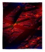Red Hot Confetti Fleece Blanket