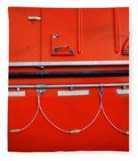 Red Hull Fleece Blanket