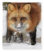 Red Hunter Fleece Blanket