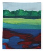 Red Lake Fleece Blanket